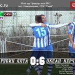 """ФК """"Рубин-Ялта"""" – ФК """"Океан"""" (Керчь) – 0:6"""