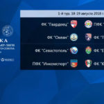 Состоялась жеребьевка чемпионата КФС сезона 2018-2019
